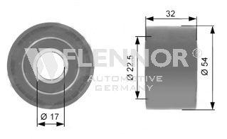 Rola ghidare curea distributie Flennor FU15209