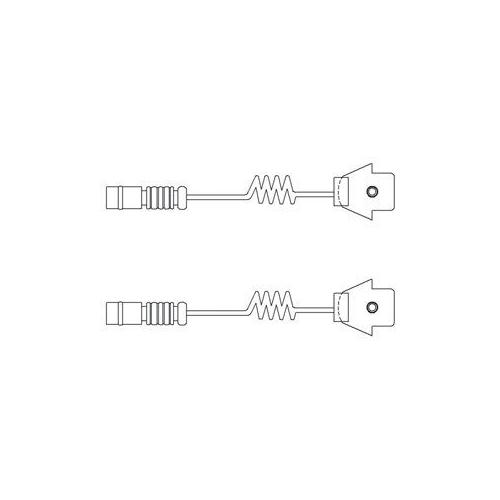 Senzor uzura placute frana Delphi LZ0111, parte montare : Punte Fata