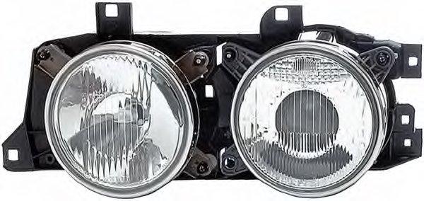 Far Bmw Seria 5 (E34), Seria 7 (E32) Tyc 205291152, parte montare : Dreapta