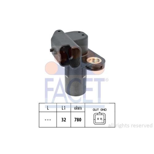 Senzor turatie, Senzor pozitie arbore cotit Facet 90553