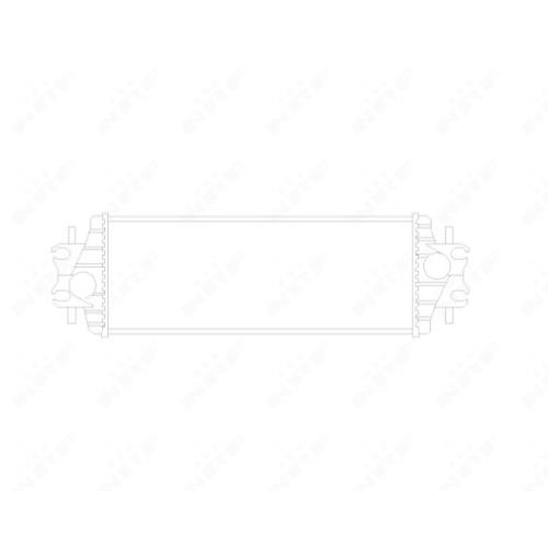 Radiator intercooler Nrf 30875