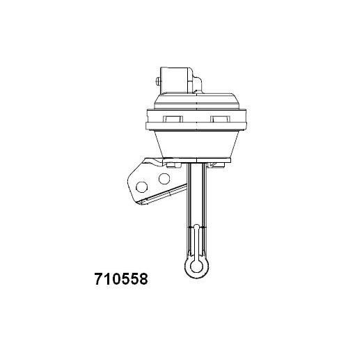 Supapa control vacuum EGR Audi A4 (8d2, B5), A4 (8e2, B6), A6 (4b2, C5); Ford Galaxy (Wgr); Seat Alhambra (7v8, 7v9); Skoda Superb (3u4); Vw Multivan 5, Passat (3b2/3b3), Sharan (7m), Transporter 5 Wahler 710558