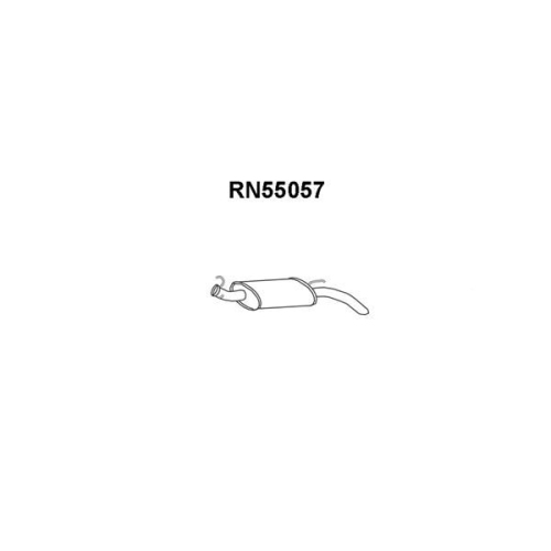 Toba esapament finala Renault Rapid Caroserie (F40 , G40), Veneporte RN55057