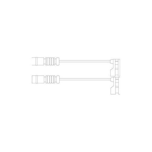 Senzor uzura placute frana Delphi LZ0175, parte montare : Punte Fata