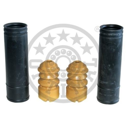 Set burduf protectie amortizor Optimal AK735126, parte montare : Punte spate