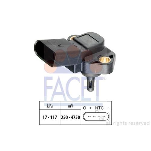 Senzor presiune aer galerie admisie Facet 103071