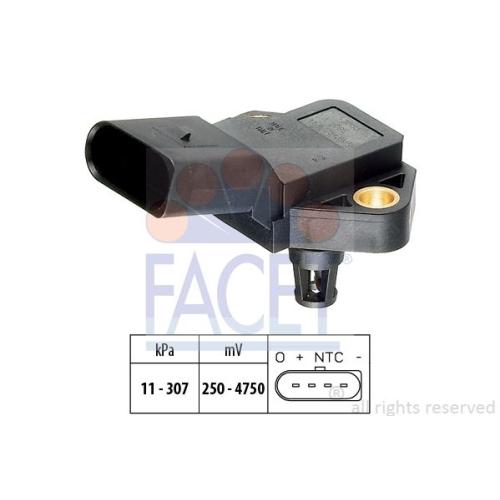Senzor presiune aer galerie admisie Facet 103075