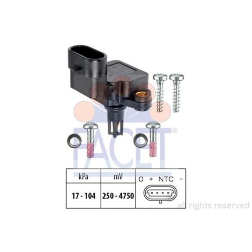 Senzor presiune aer galerie admisie Facet 103081