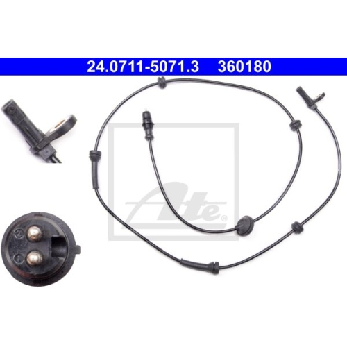 Senzor ABS Ate 24071150713, parte montare : punte fata, stanga