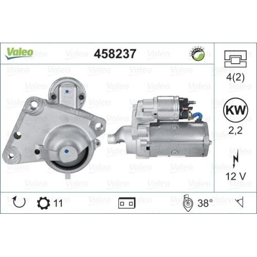 Electromotor Valeo 458237