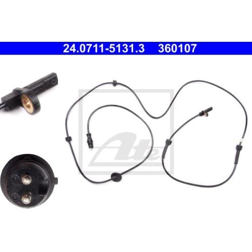Senzor ABS Ate 24071151313, parte montare : punte spate