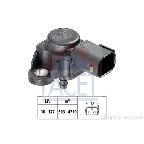 Senzor presiune aer galerie admisie Facet 103106
