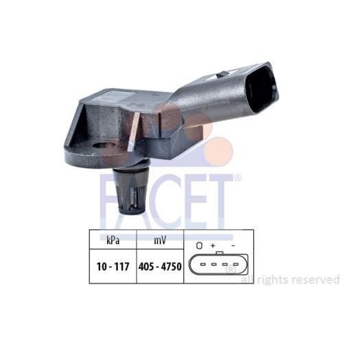 Senzor presiune aer galerie admisie Facet 103157