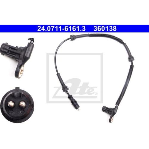 Senzor ABS Ate 24071161613, parte montare : punte fata