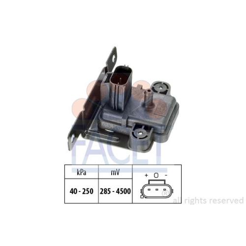 Senzor presiune aer galerie admisie Facet 103058