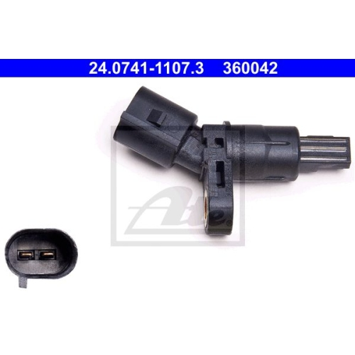Senzor ABS Ate 24074111073, parte montare : punte spate