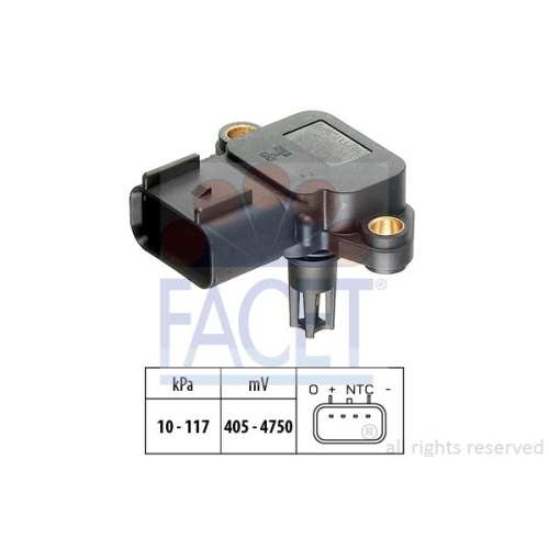 Senzor presiune aer galerie admisie Facet 103077