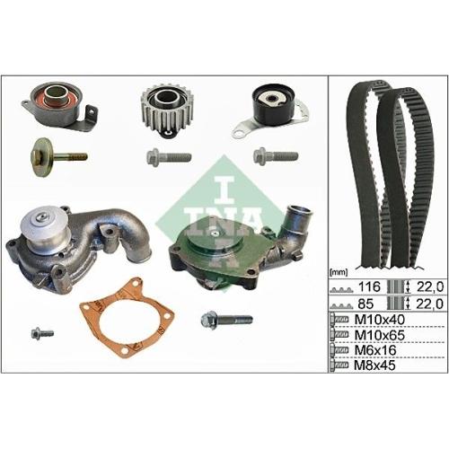 Kit distributie + pompa apa Ina 530010431