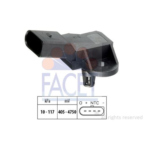 Senzor presiune aer galerie admisie Facet 103090