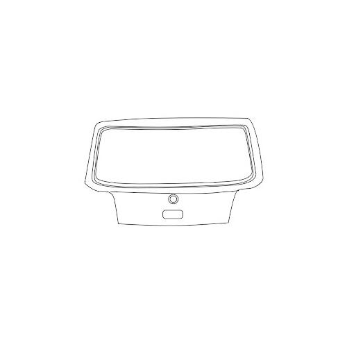 Capota portbagaj Vw Golf 4 (1j1) Van Wezel 5888600, parte montare : spate