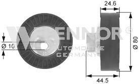 Rola ghidare curea transmisie Flennor FU27992