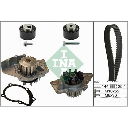 Kit distributie + pompa apa Ina 530023530