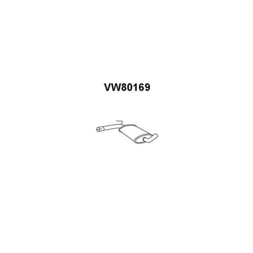 Toba esapamet intermediara Vw Passat (3a2, 35i), Veneporte VW80169