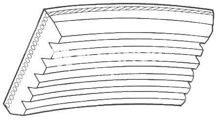 Curea transmisie cu caneluri Contitech 6PK1920