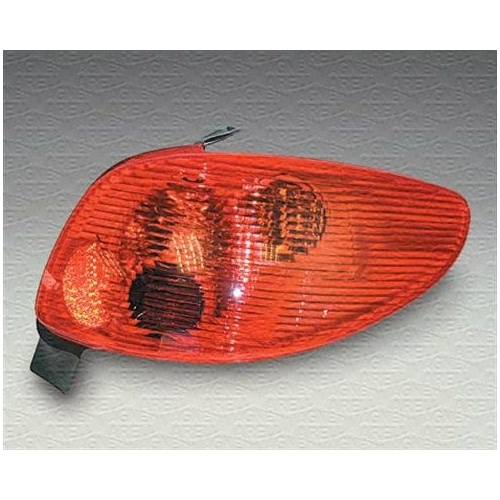 Lampa stop Peugeot 206 (2a/C), Magneti Marelli 714025630701, parte montare : Stanga