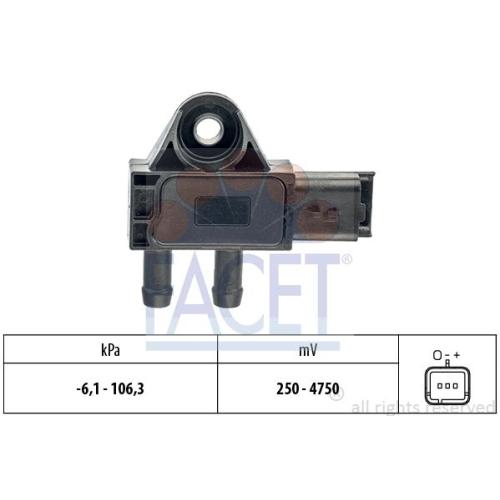 Senzor presiune aer galerie admisie Facet 103271