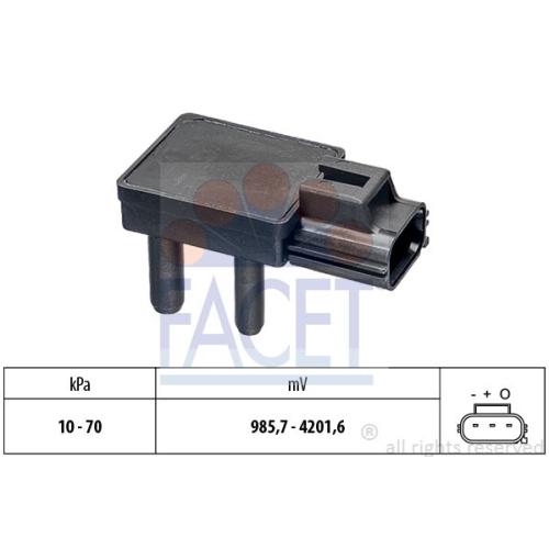 Senzor presiune aer galerie admisie Facet 103277