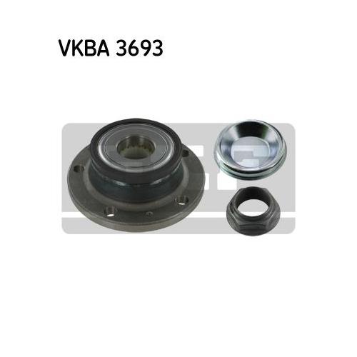 Rulment butuc roata Skf VKBA3693, parte montare : Punte spate