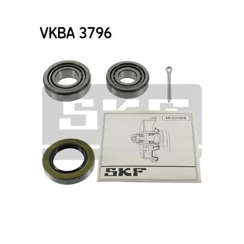 Rulment butuc roata Skf VKBA3796, parte montare : Punte spate