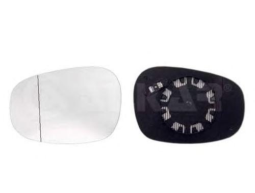 Geam oglinda, sticla oglinda Bmw Seria 1 (E81 E87), Seria 3 (E90/E91), Alkar 6472861, parte montare : Dreapta