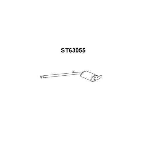 Toba esapamet intermediara Seat Toledo 1 (1l), Veneporte ST63055