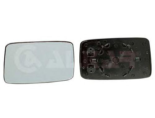 Geam oglinda, sticla oglinda Seat Cordoba (6k1, 6k2), Ibiza 2 (6k1); Vw Golf 3 (1h1), Vento (1h2), Alkar 6402125, parte montare : Dreapta