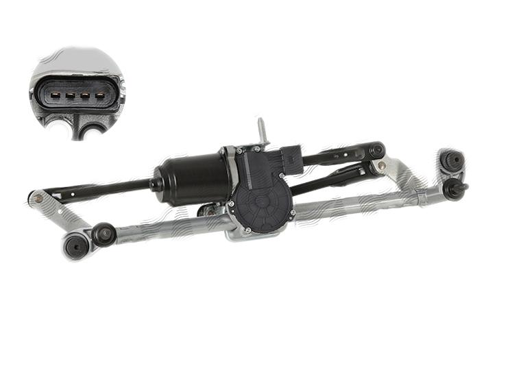 Mecanism stergatoare parbriz Seat Ibiza 5; Vw Polo (6r, 6c) Magneti Marelli 064352116010, parte montare : Punte Fata