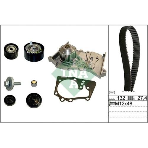 Kit distributie + pompa apa Ina 530063930