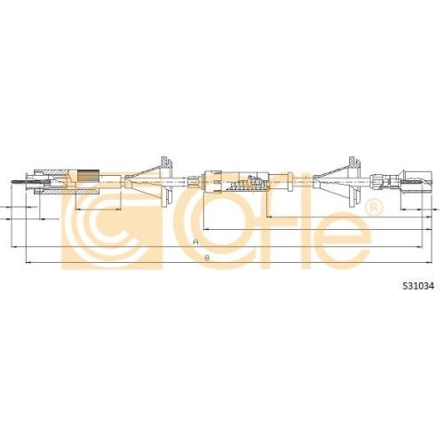 Arbore tahometru Vw Passat (3a2, 35i) Cofle S31034