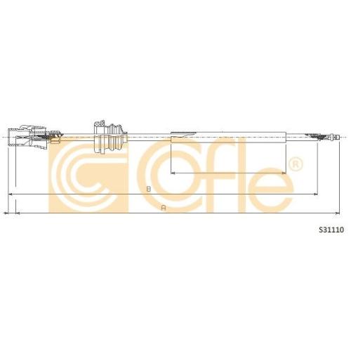 Arbore tahometru Vw Transporter 3 Cofle S31110