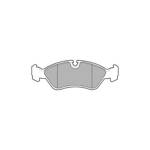 Set placute frana Delphi LP585, parte montare : Punte Fata