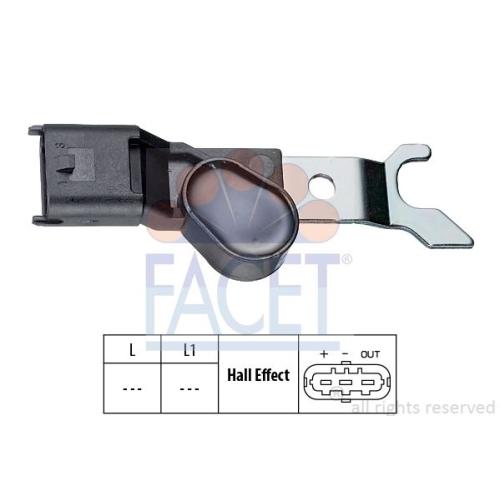 Senzor turatie, Senzor pozitie ax came Facet 90310