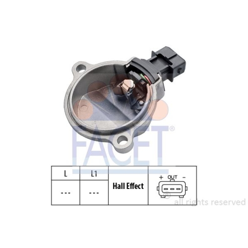 Senzor turatie, Senzor pozitie ax came Facet 90401