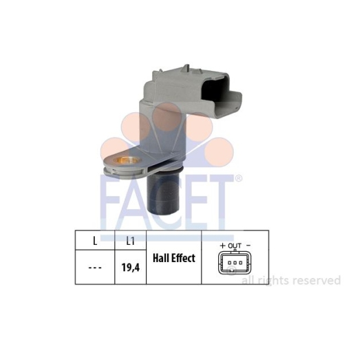 Senzor turatie, Senzor pozitie ax came Facet 90468