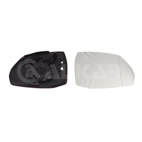Geam oglinda, sticla oglinda Audi Q7 (4m) Alkar 6472808, parte montare : dreapta