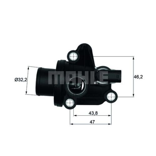 Termostat lichid racire Mahle Original TI1287