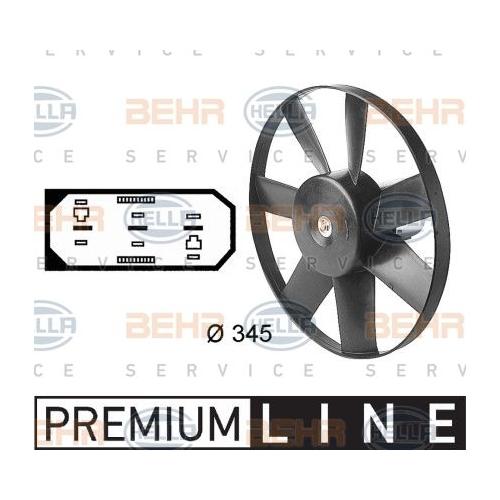 Ventilator radiator GMV Hella 8EW009144591