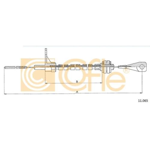 Cablu acceleratie Vw Transporter 3 Cofle 11065