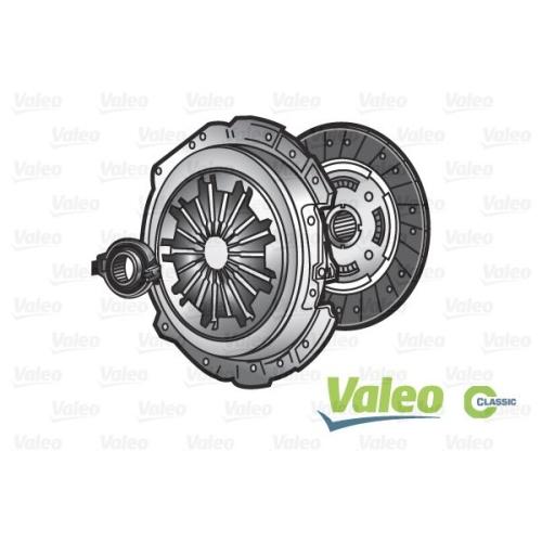 VALEO Set ambreiaj VALEO CLASSIC KIT3P