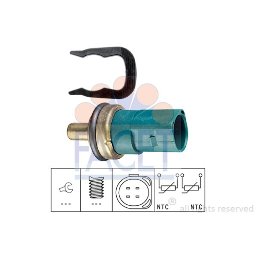 Senzor temperatura lichid racire Facet 73258